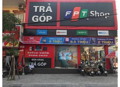 Thi Công quảng cáo OPPO tại siêu thị FPT